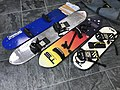 Skysurfing boards in different sizes, beginner - expert.jpg
