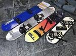 Skysurfing boards in different sizes, beginner - expert.jpg