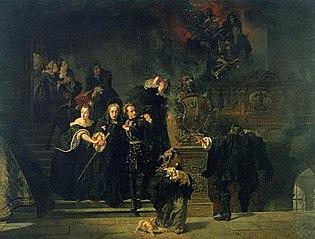 Incendie du château de Stockholm le 7 mai 1697