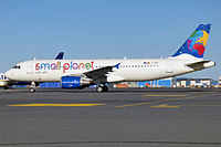 LY-SPF - A320 - Small Planet Airlines