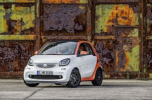 Smart (marque) - smart Fortwo