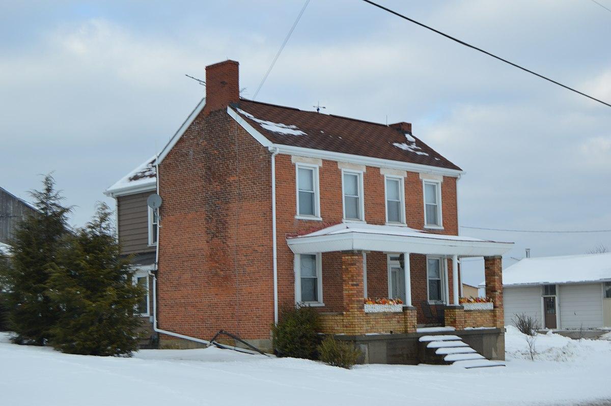 Smithfield township jefferson county ohio wikipedia for Farmhouse brick