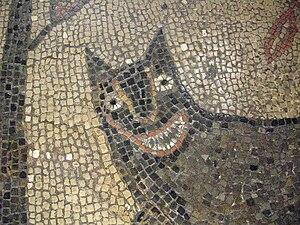 Leeds City Museum - Roman floor mosaic