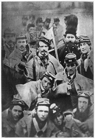Virginia v. John Brown - Image: Soldiers from Richmond Grays at execution of abolitionist John Brown in Charles Town, West Virginia LCCN2016650150