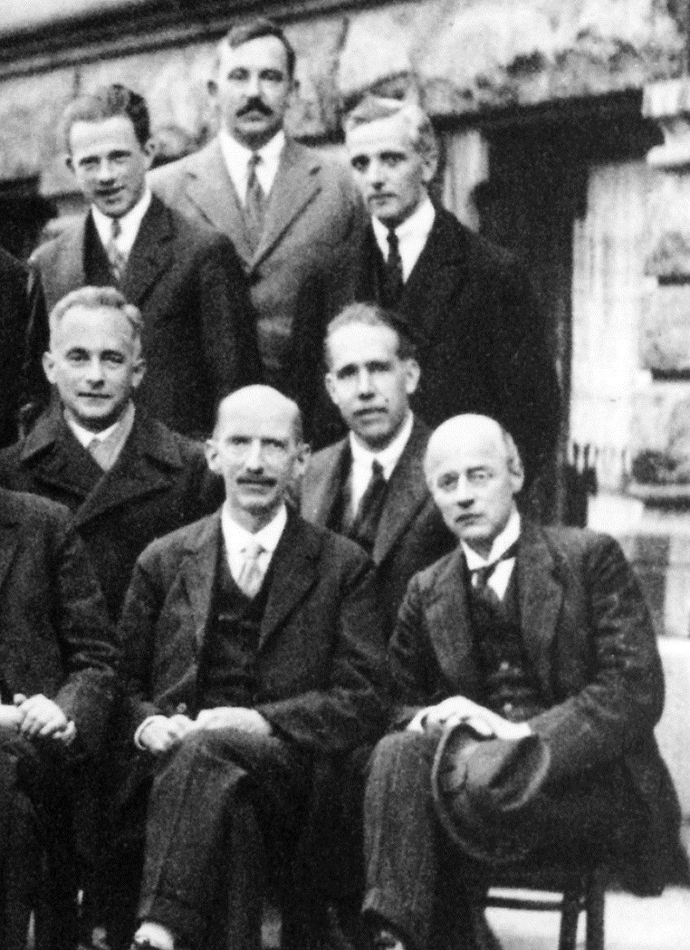 Solvay conference 1927 detail