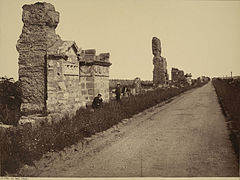 Sommer, Giorgio (1834-1914) - n. 4235 - Via Appia (Roma) - Cornell university website.jpg