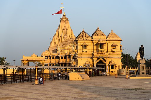 Somnath temple Gujarat India