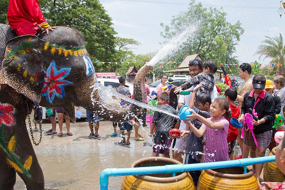Songkran 11 - Ayutthaya
