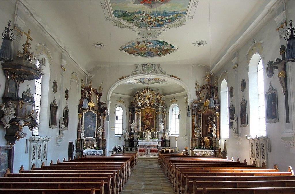 südlichste Stadt Sonthofen Kirche St Michael (7)