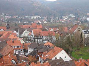 Bad Sooden-Allendorf - View over Bad Sooden-Allendorf