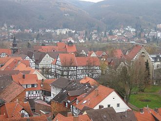 Bad Sooden-Allendorf - View over Bad Sooden-Allendorf