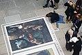 South Bank, London, artist at work (2) - geograph.org.uk - 1764526.jpg