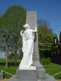 The war memorial at Soyécourt