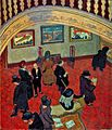 Spencer Gore Gauguins and Connoisseurs at the Stafford Gallery 1911.jpg