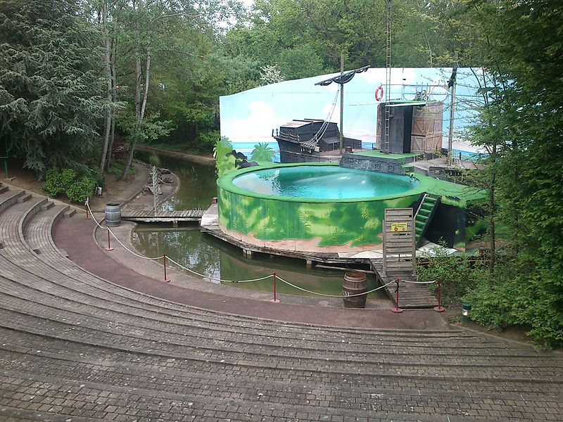 Amphithéâtre de Walygator Parc