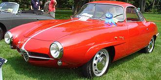"Alfa Romeo Giulietta Sprint Speciale - ""Low nose"" Giulietta Sprint Speciale."