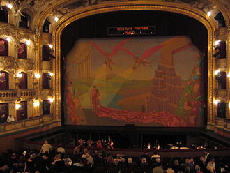State Opera (Prague) - The auditorium.