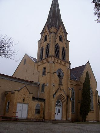St. Ambrose Church (St. Nazianz, Wisconsin) - St. Ambrose Church