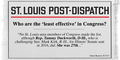 St. Louis Post-Dispatch least effective in congress 11864744 534709096676552 4166094924183452732 o.png