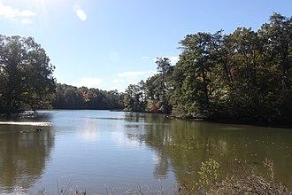 St. Marys River (Maryland) - A landscape image of the St. Marys River