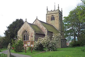 Listed buildings in Highley - Image: St. Mary, Highley geograph.org.uk 120190