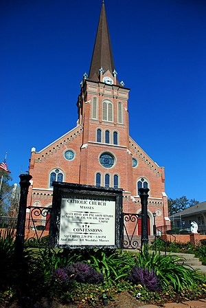 Abbeville, Louisiana - St. Mary Magdalen Church