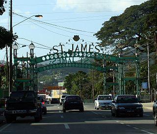 Saint James, Trinidad and Tobago District in Trinidad and Tobago