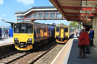 St Austell railway station - Trains to Penzance and Plymouth