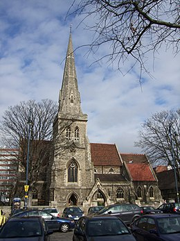 St Edward the Confessor Church Romford - geograph.org.uk - 1778228.jpg