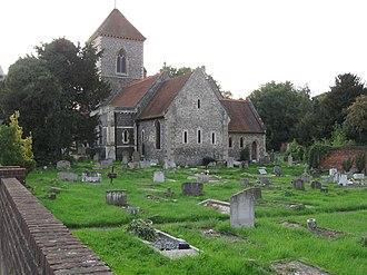 St Mary's Church, Addington - Image: St Mary's Addington