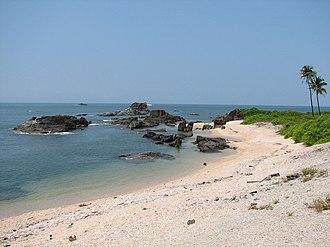 St. Mary's Islands - Image: St Mary's Island