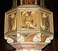 St Mary's church - C15 baptismal font (detail) - geograph.org.uk - 1593766.jpg