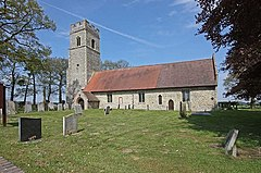 St Mary, Ashby St Mary, Norfolk - geograph.org.uk - 1280962.jpg