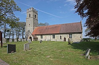 Ashby St Mary village in the United Kingdom