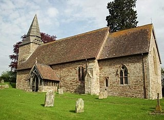 Upper Sapey village in United Kingdom