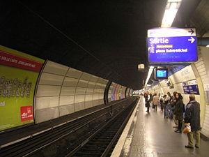 Gare de Saint-Michel – Notre-Dame - Saint-Michel RER B station