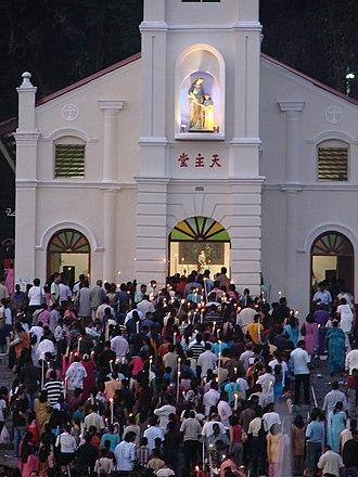 St. Anne's Church, Bukit Mertajam - St Anne's annual feast day sees thousands of pilgrims at the church