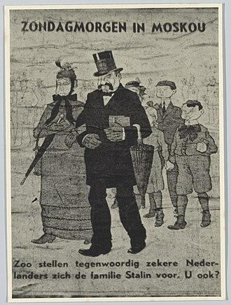 Reichskommissariat Niederlande - Collaborationist propaganda, 1944