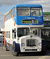 Stagecoach East bus 19953 (JAH 553D), Isle of Wight Bus Museum running day October 2010.jpg