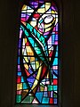 Stained glass window at St Sidwell's - geograph.org.uk - 1369006.jpg