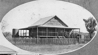 Rannes, Queensland - Shire Council building, Rannes, circa 1930