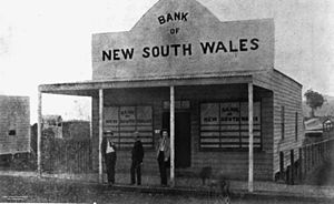 Bank of New South Wales - Bank of New South Wales branch in Port Douglas, Queensland circa 1890