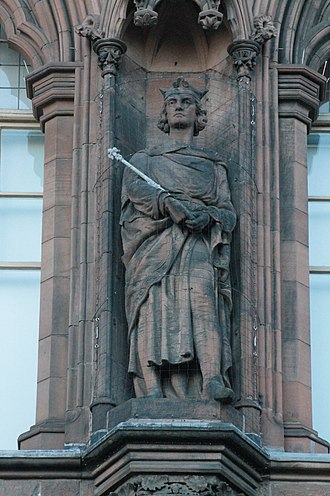 Alexander III of Scotland - Statue of King Alexander III, Scottish National Portrait Gallery