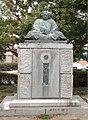 Statue of Kobayakawa Takakage.jpg