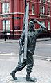 Statue of a window cleaner, Chapel Street, London W1 - geograph.org.uk - 1610218.jpg