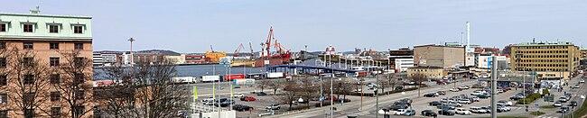 Stena Danmarksterminal, Göteborg-Panorama100425.jpg