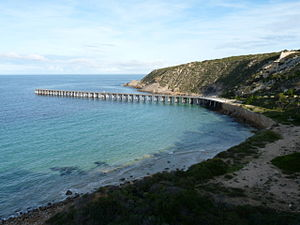 Yorke Peninsula - Image: Stenhouse Bay jetty