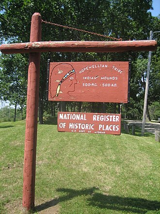 Hopewell tradition - Sinnissippi Mounds, Sinnissippi Park, Sterling, Illinois