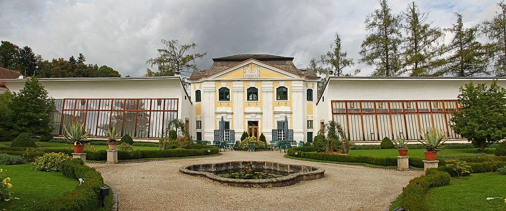 Stift Zwettl - Orangerie (Cafe) im Prälatengarten