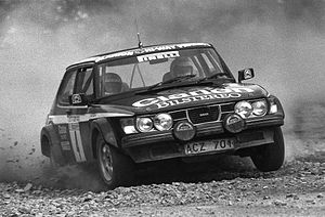 Stig Blomqvist - Blomqvist in the Saab 99 Turbo (Hunsrück-Rallye 1980)
